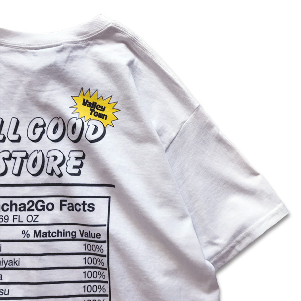 ALL GOOD STORE | SPICY T-Shirt / White