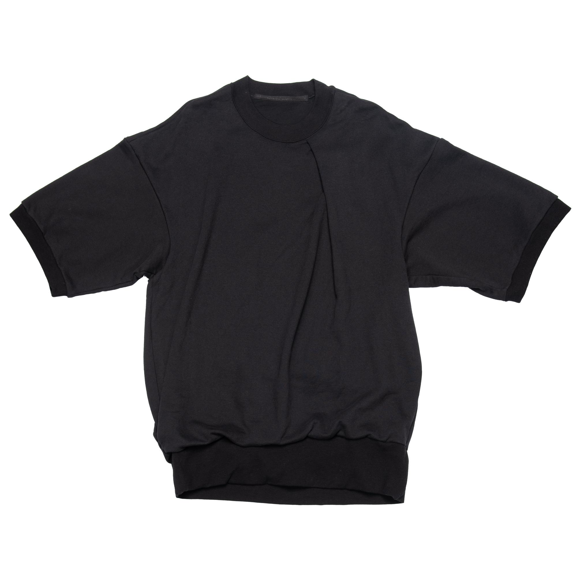 657CUM3-BLACK / タックドビッグ T シャツ