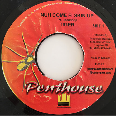 Tiger (タイガー) - Nuh Come Fi Skin Up【7'】