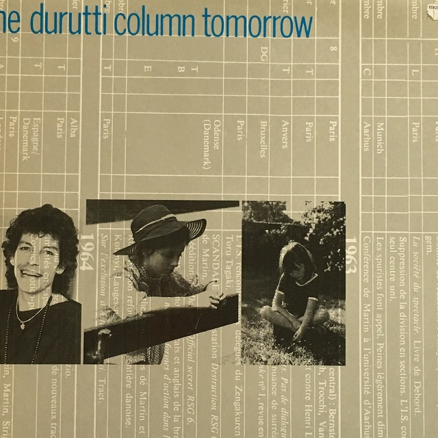 【12inch・ベルギー盤】The Durutti Column / Tomorrow
