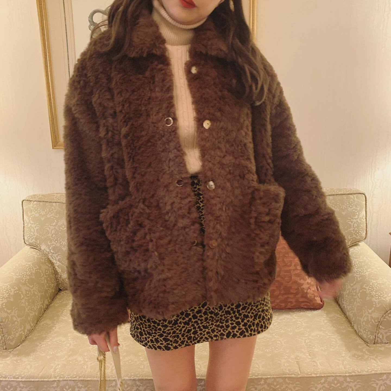 【Désir original】leopard skirt