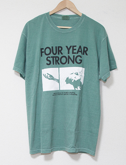 【FOUR YEAR STRONG】Brain Pain T-Shirts (Light Green)