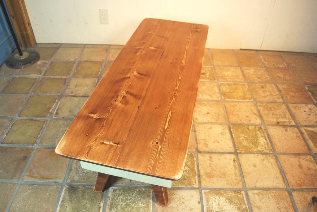 ラスティカフェテーブル