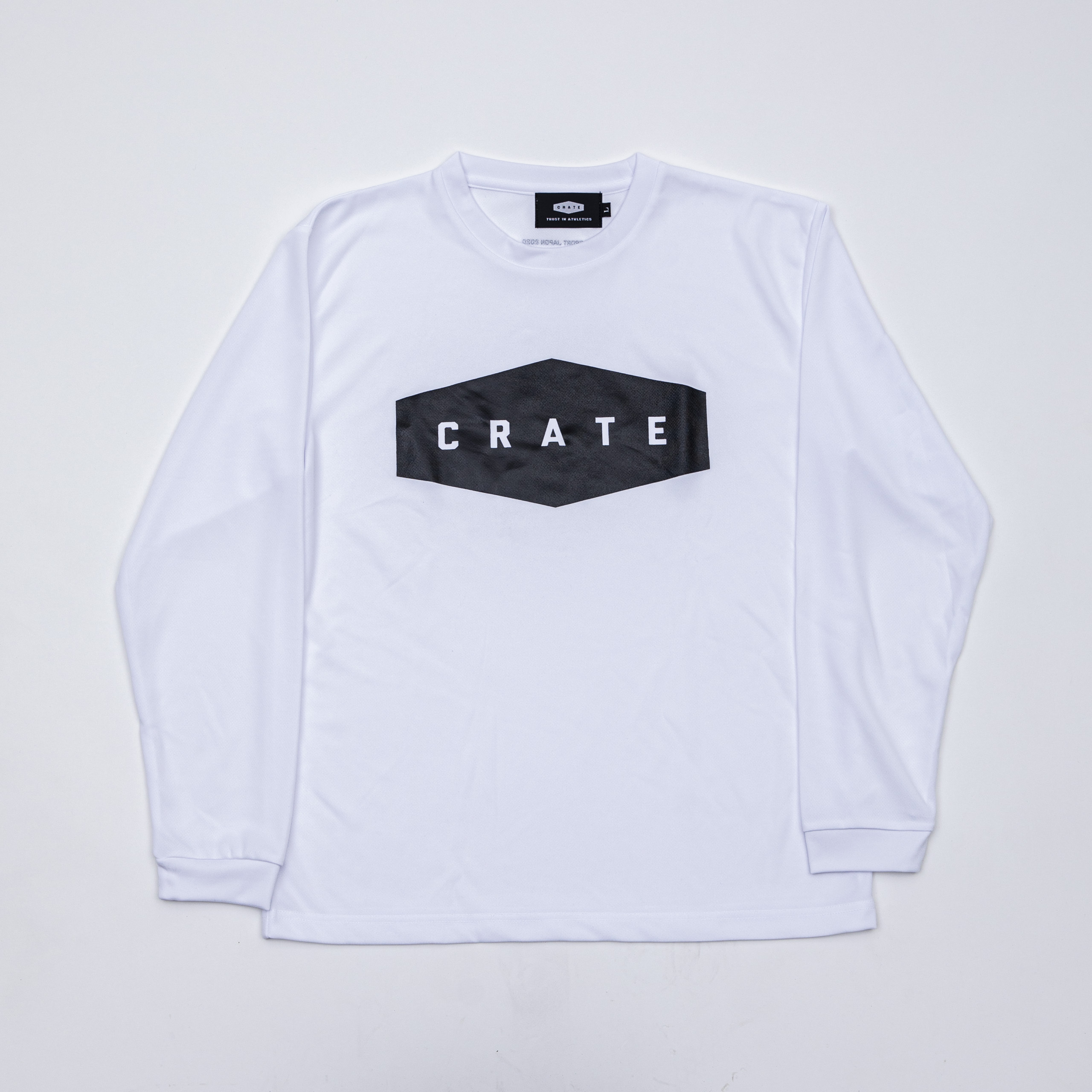 CRATE MESH L/S Tee 2020 WHITE