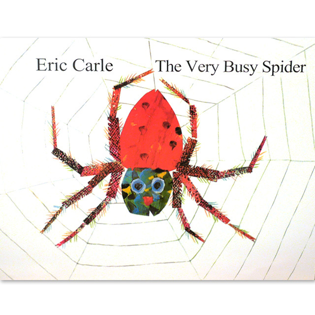 「The Very Busy Spider」 エリック・カール