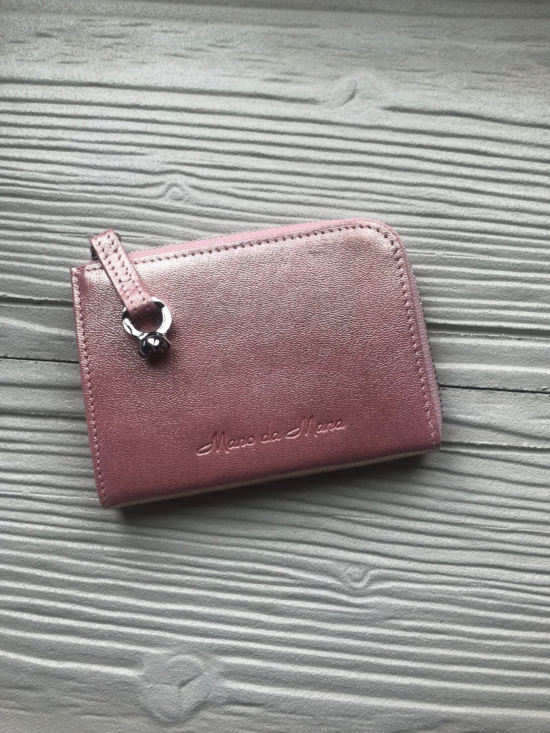 コンパクト財布(ピンク)