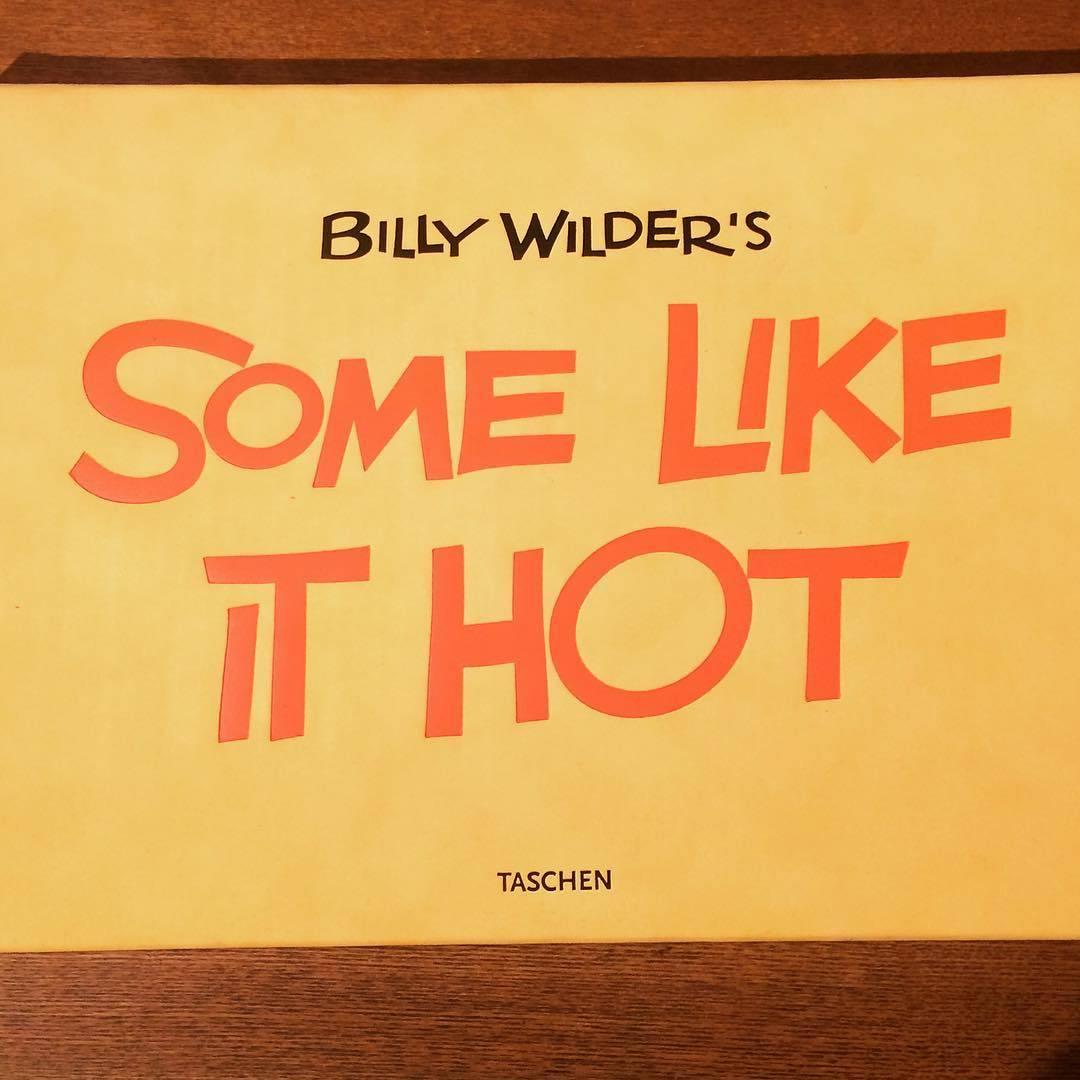 映画の本「Billy Wilder's Some Like It」 - 画像1