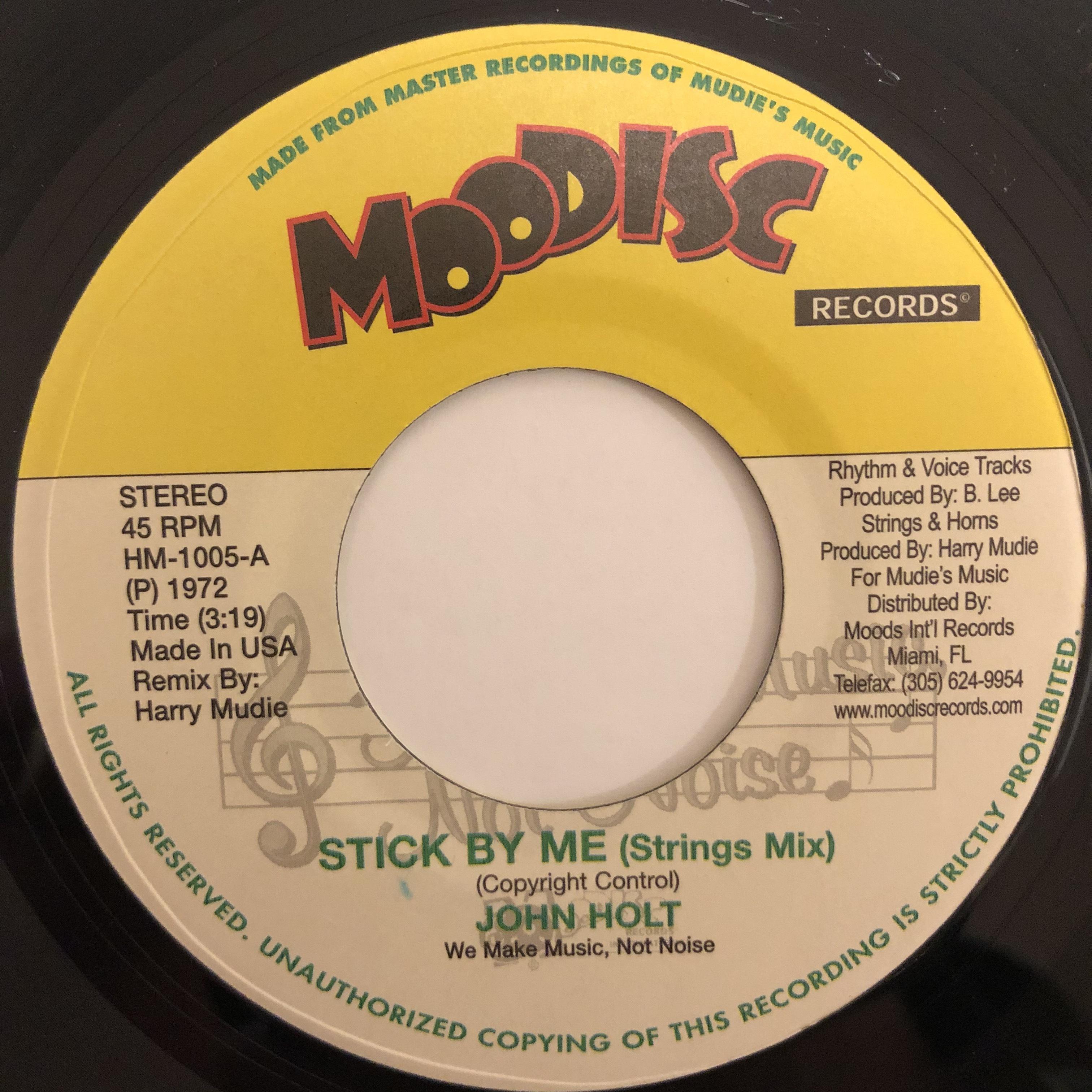 John Holt - Stick By Me【7-20460】