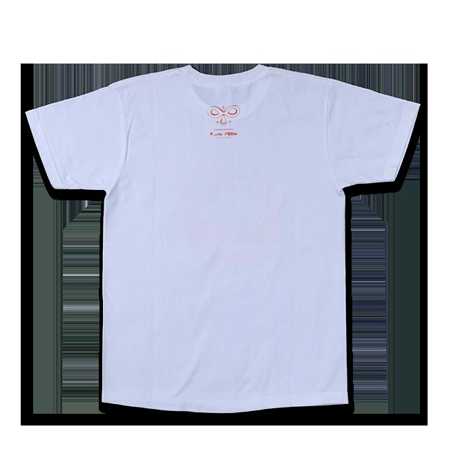 sasakure.UK『トンデモ未来空奏図』Tシャツ ホワイト(メンズ / レディース) - 画像3