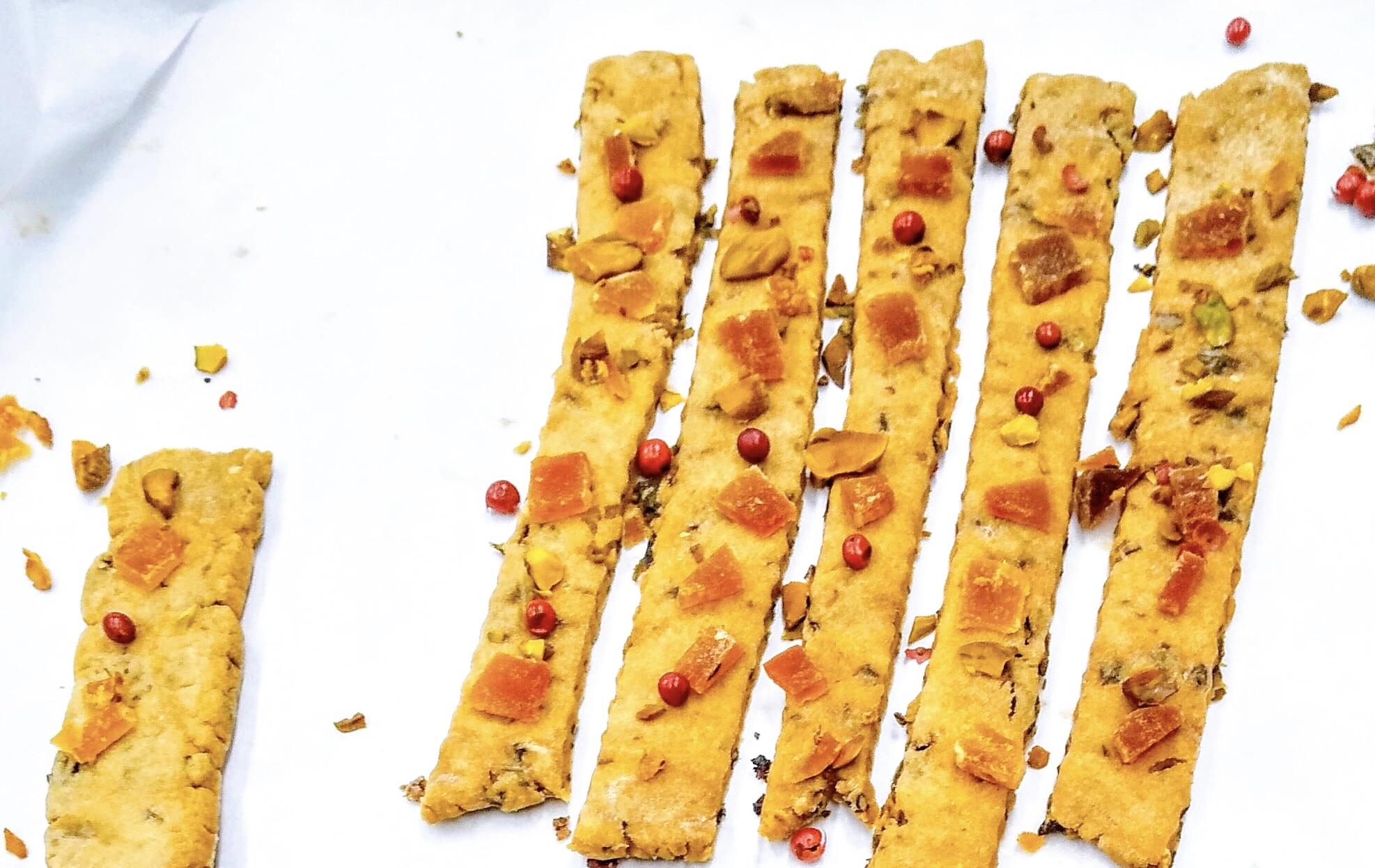 【9月発売予定】シーリーブス コンブスティッククッキー 100g/SEA LEAVES KOMBU STICK COOKIES 100g
