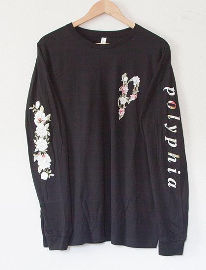 ※Restock【POLYPHIA】Flower Long Sleeve (Black)
