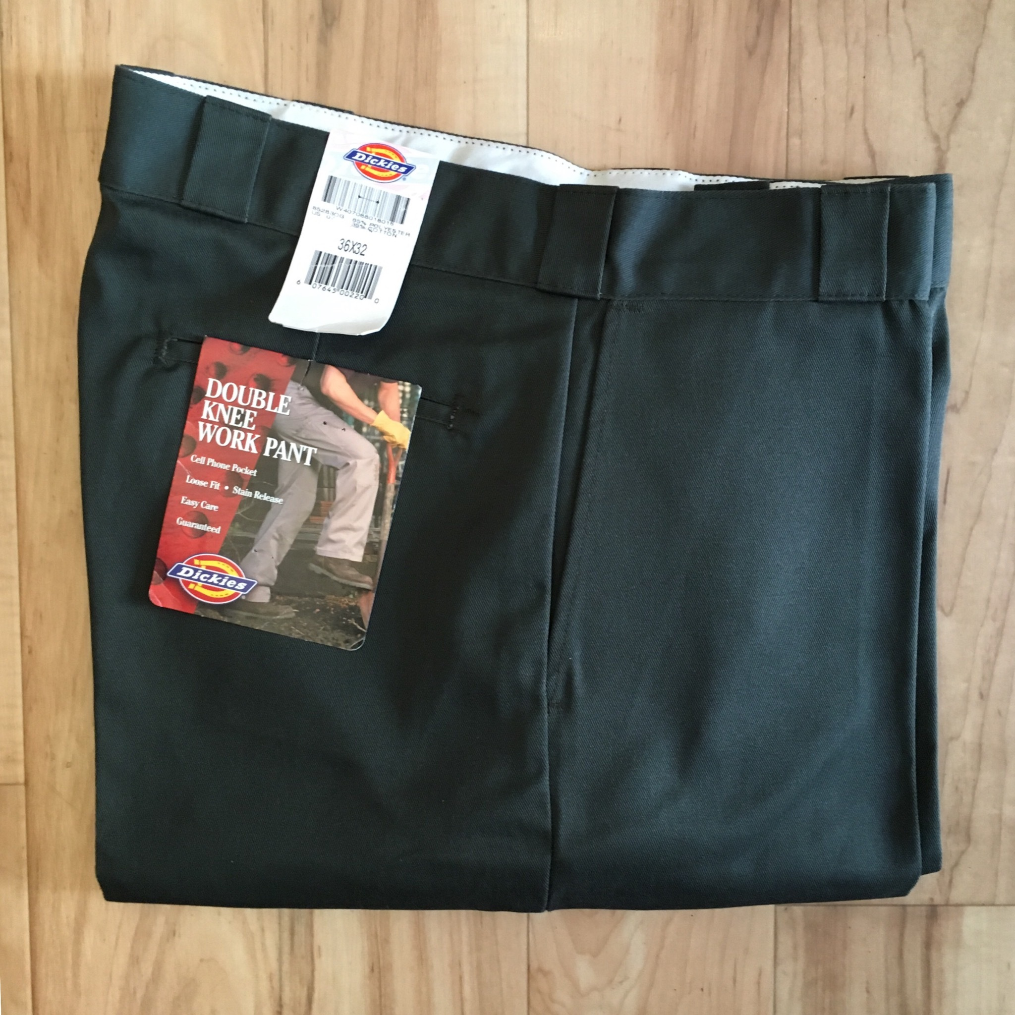 """Dickies DOUBLE KNEE WORK PANT  W36 inch """" Made in USA"""" <Deadstock>"""