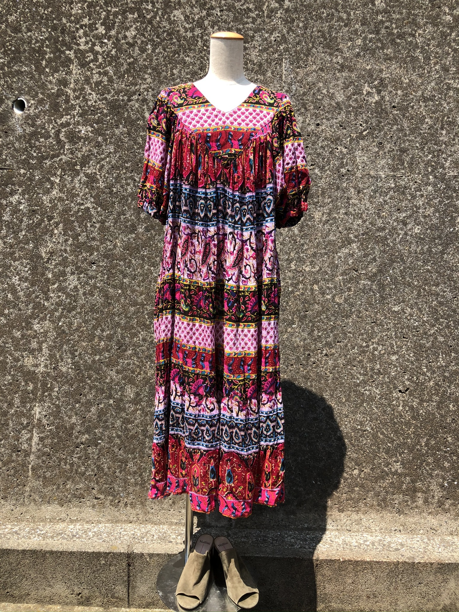 rayon ethnic dress made in india