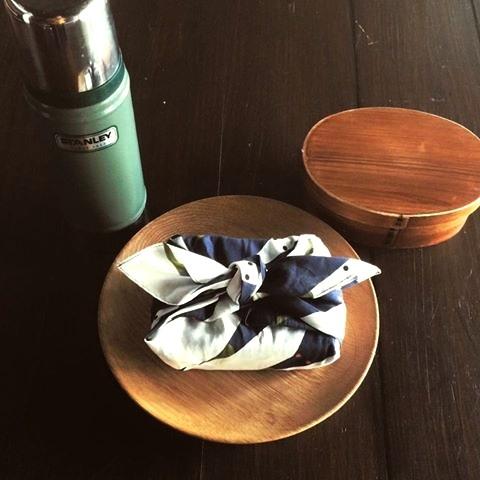 綿ローンハンカチーフ(立涌 桜)size:50cm×50cm