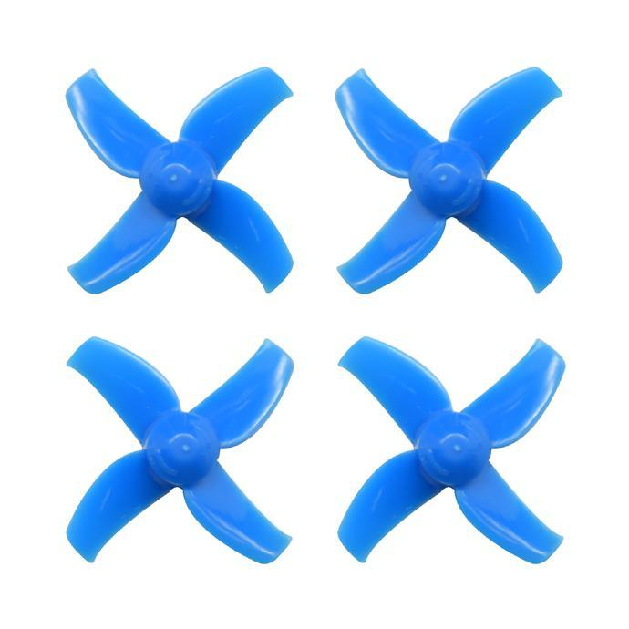 Blue 40mm 4-blade 2S Whoop Propellers (1.5mm Shaft Hole) BetaFPV