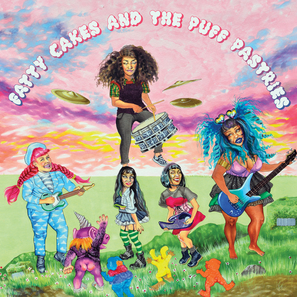 Fatty Cakes And The Puff Pastries - S/T (LP)