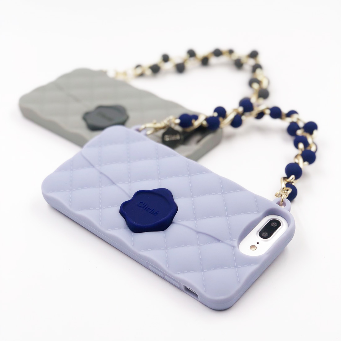 SEAL STAMPED BEADS HANDLE for iPhone8/7/6s/6 Plusケース