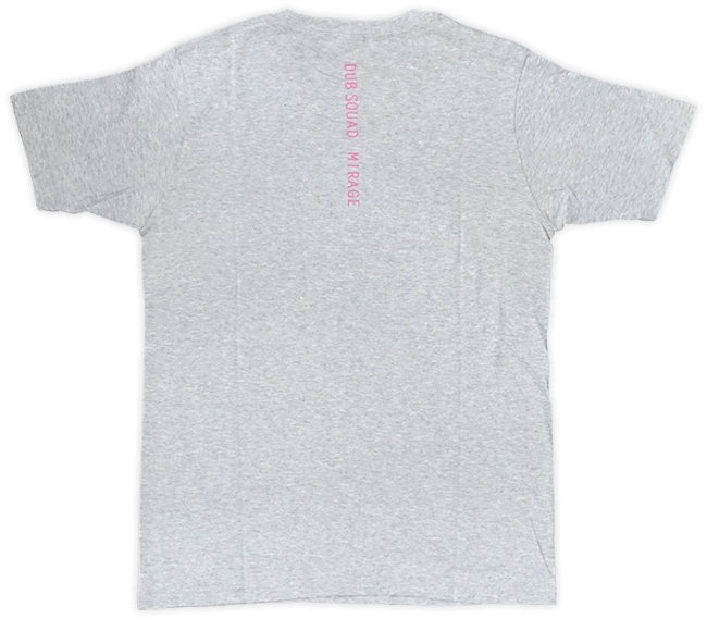 DUB SQUAD - MIRAGE Tシャツ(グレー) - 画像2