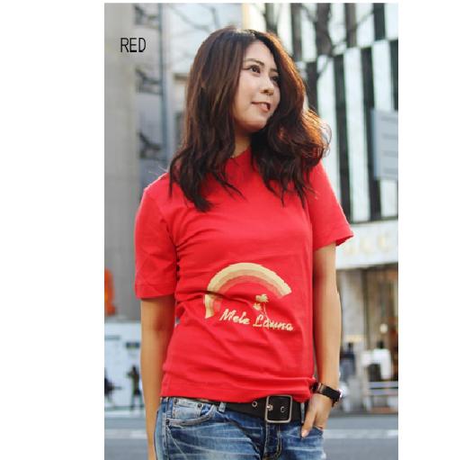 APPLE HOUSE / ZA TOKYO  肌触りの良い日本製・40/2天竺!ハワイアンデザインのT-シャツ(Mele Launa) No.134297