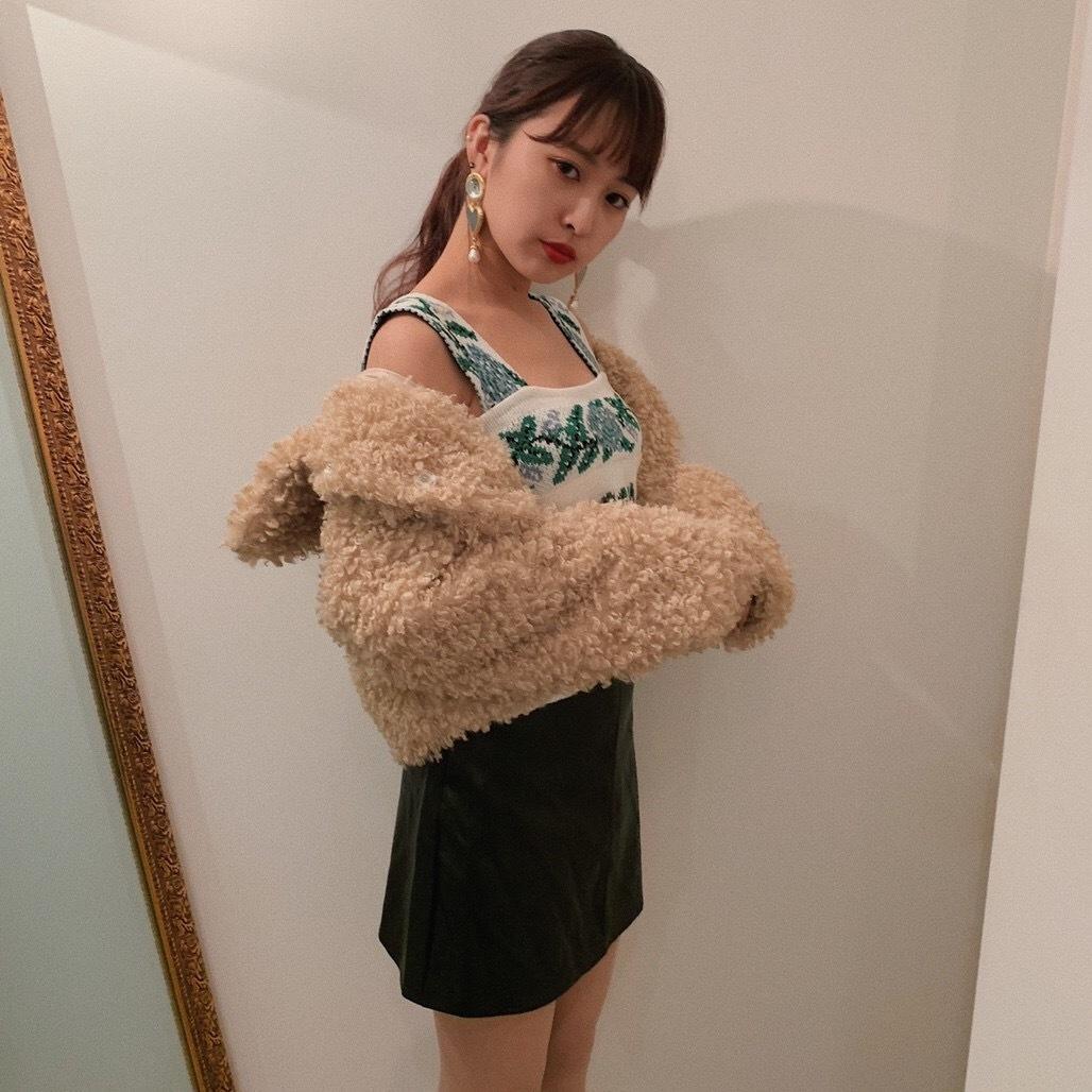 ♡Vintage flower vest