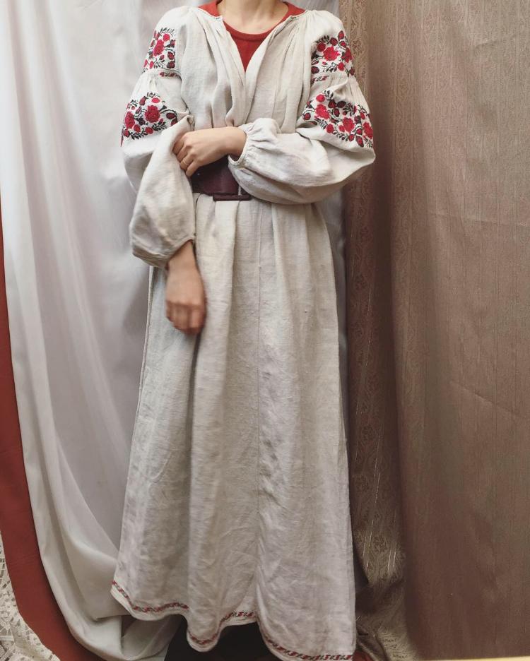1950s Ukraina dress