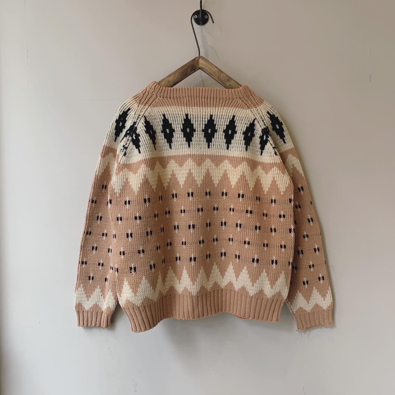 vintage knit sweater