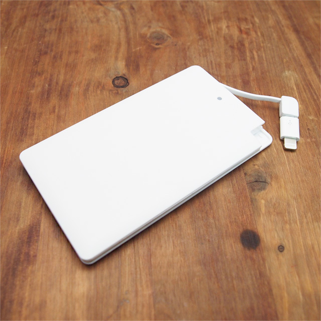 薄型軽量モバイルバッテリー【energy!(りんごとその花)】