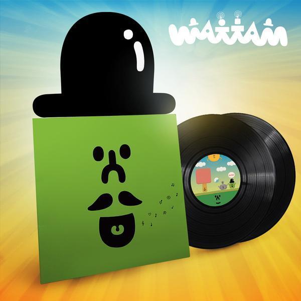 WATTAM / 2XLP VINYL SOUNDTRACK: MATTAW【アナログレコード】 / iam8bit