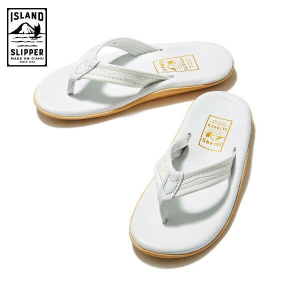 アイランドスリッパ メンズ サンダル トング ISLAND SLIPPER PT202 WHITE 正規取扱店