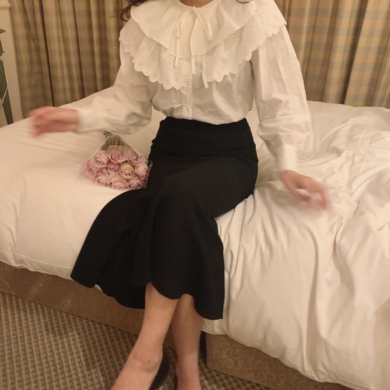 3/2 RESTOCK mermaid knit skirt