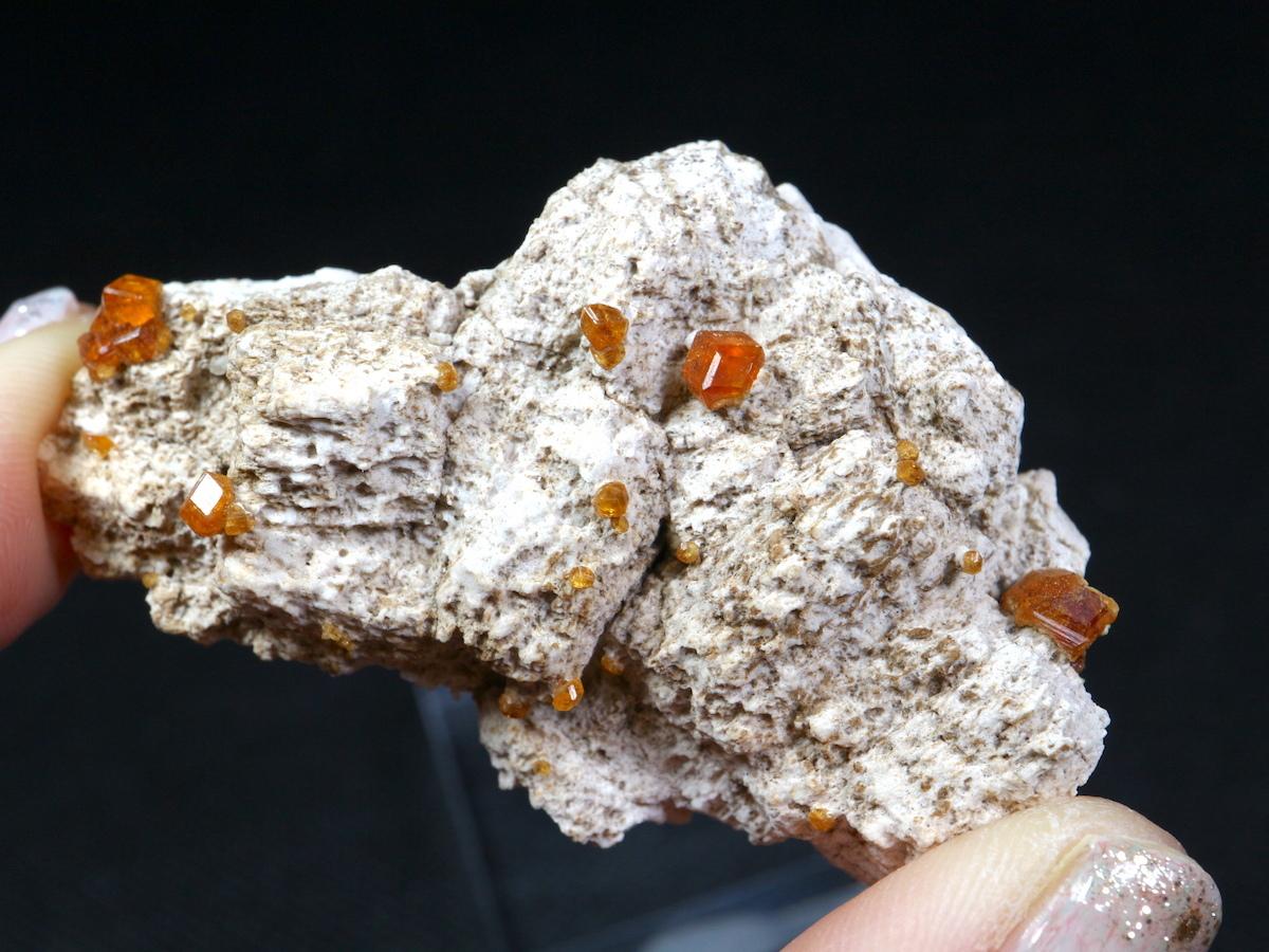 スペサルティンガーネット 満礬柘榴石 34g SPS001 原石 鉱物 天然石 パワーストーン