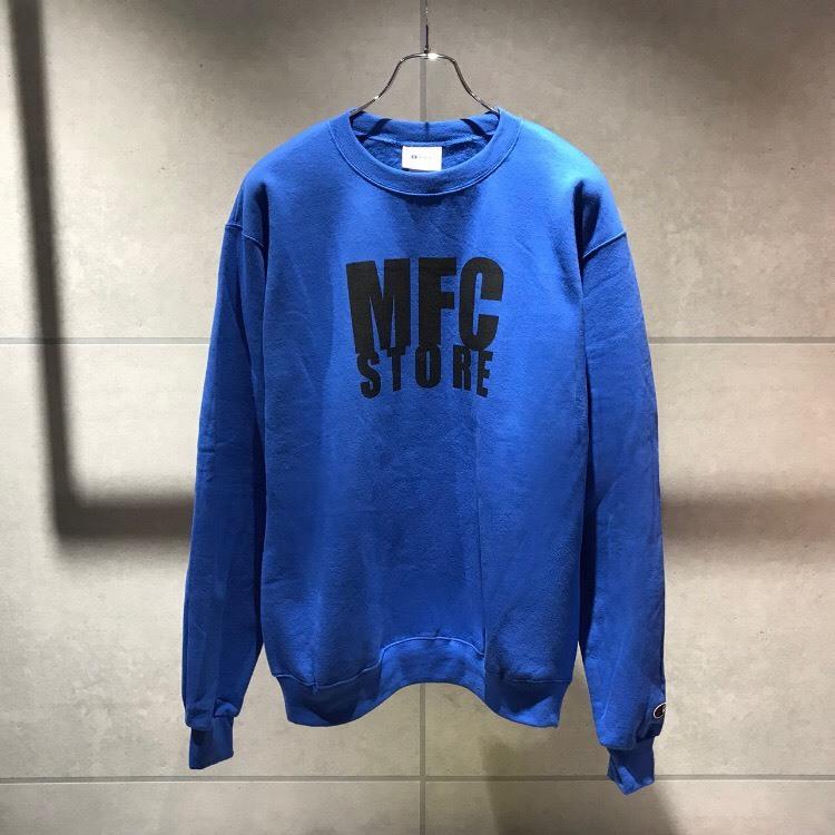 MFC STORE LOGO CREWNECK SWEATSHIRT / ROYAL BLUE