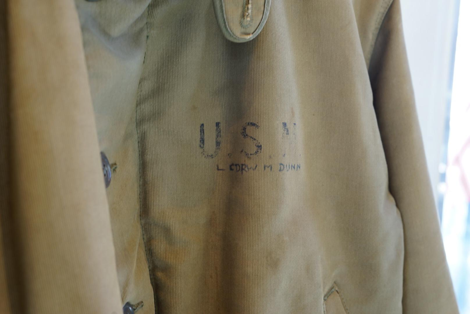 U.S Navy N-1 ダックジャケット ボアブルゾン