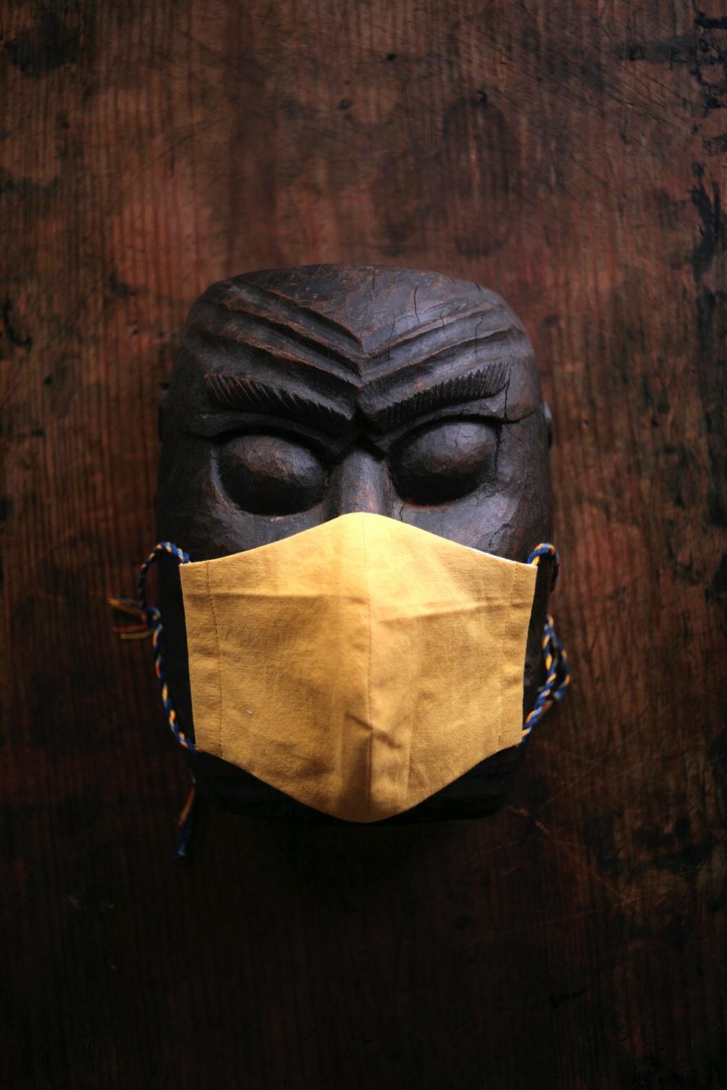 験担ぎマスク