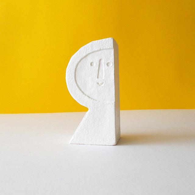 Peter Slight ceramics Medium Head SEMI-CIRCLE  / MH03