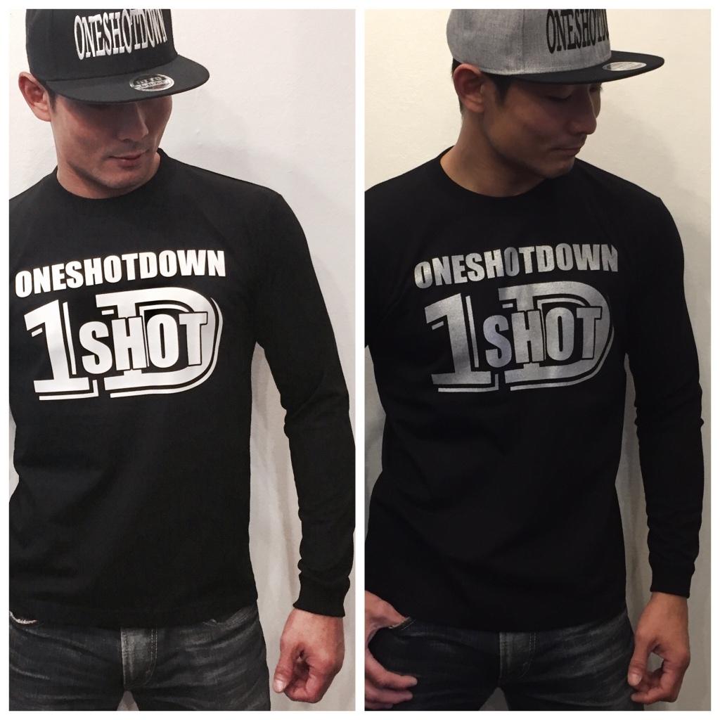 ONESHOTDOWN ロゴ ロンティー - 画像4