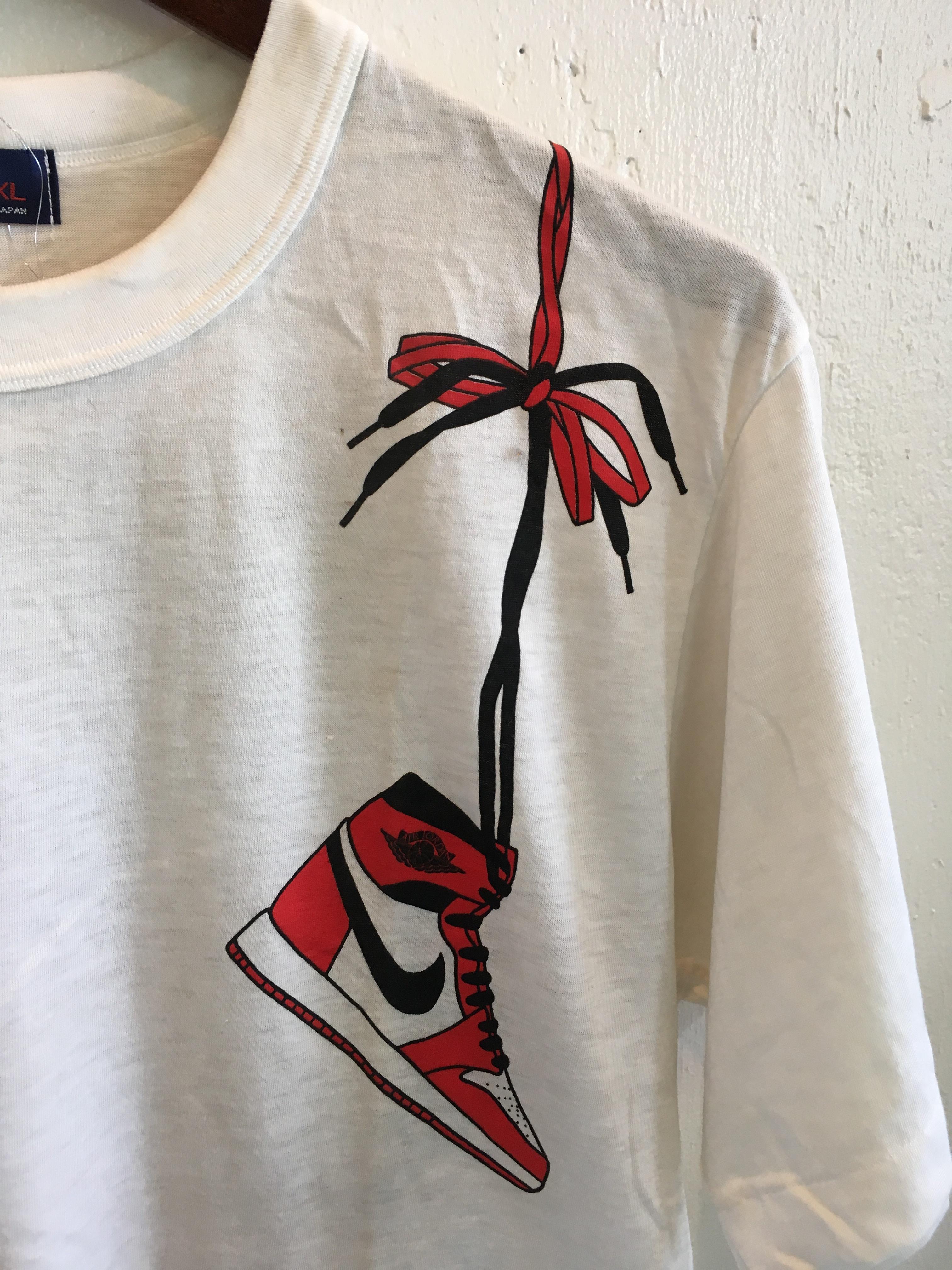 1985's NIKE JORDAN FIRST デッドストックTシャツ