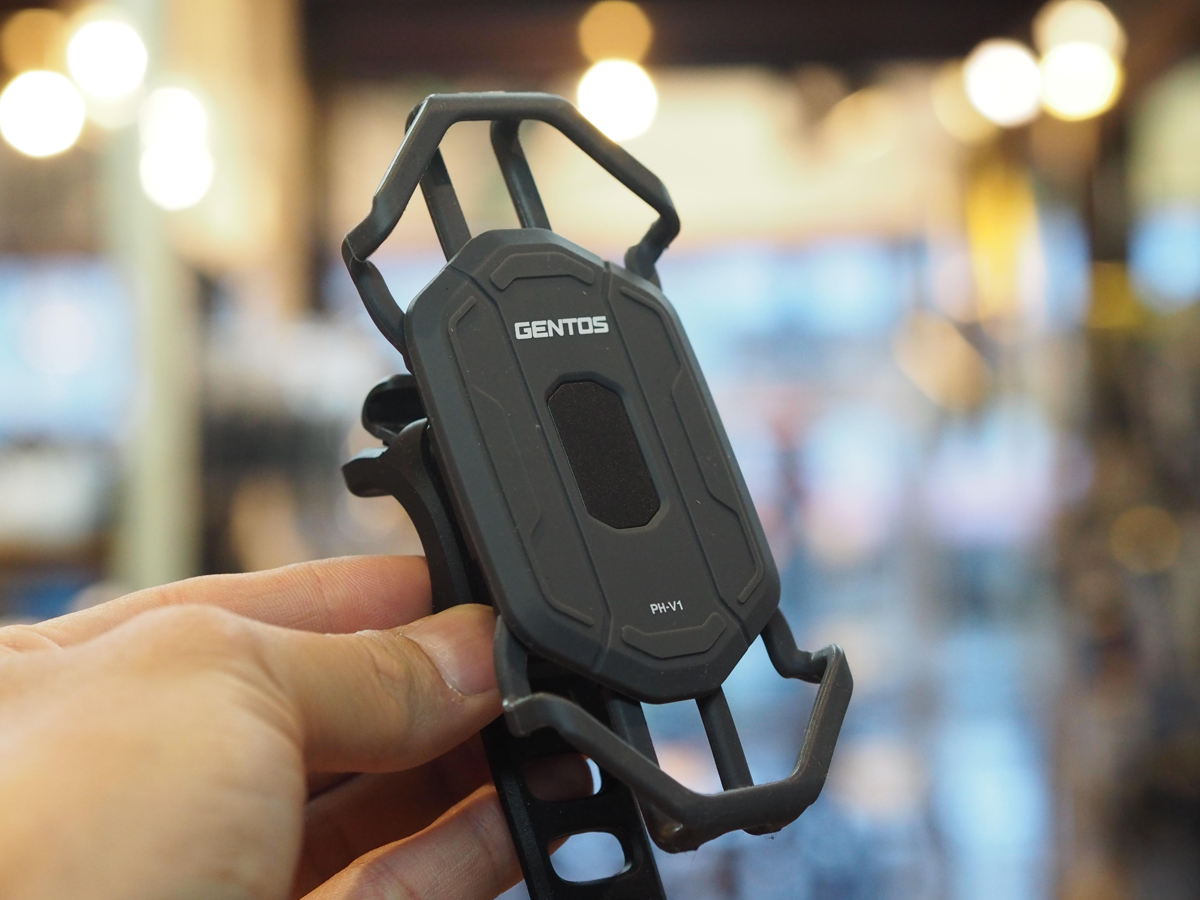 GENTOS PH-V1 スマートフォンホルダー