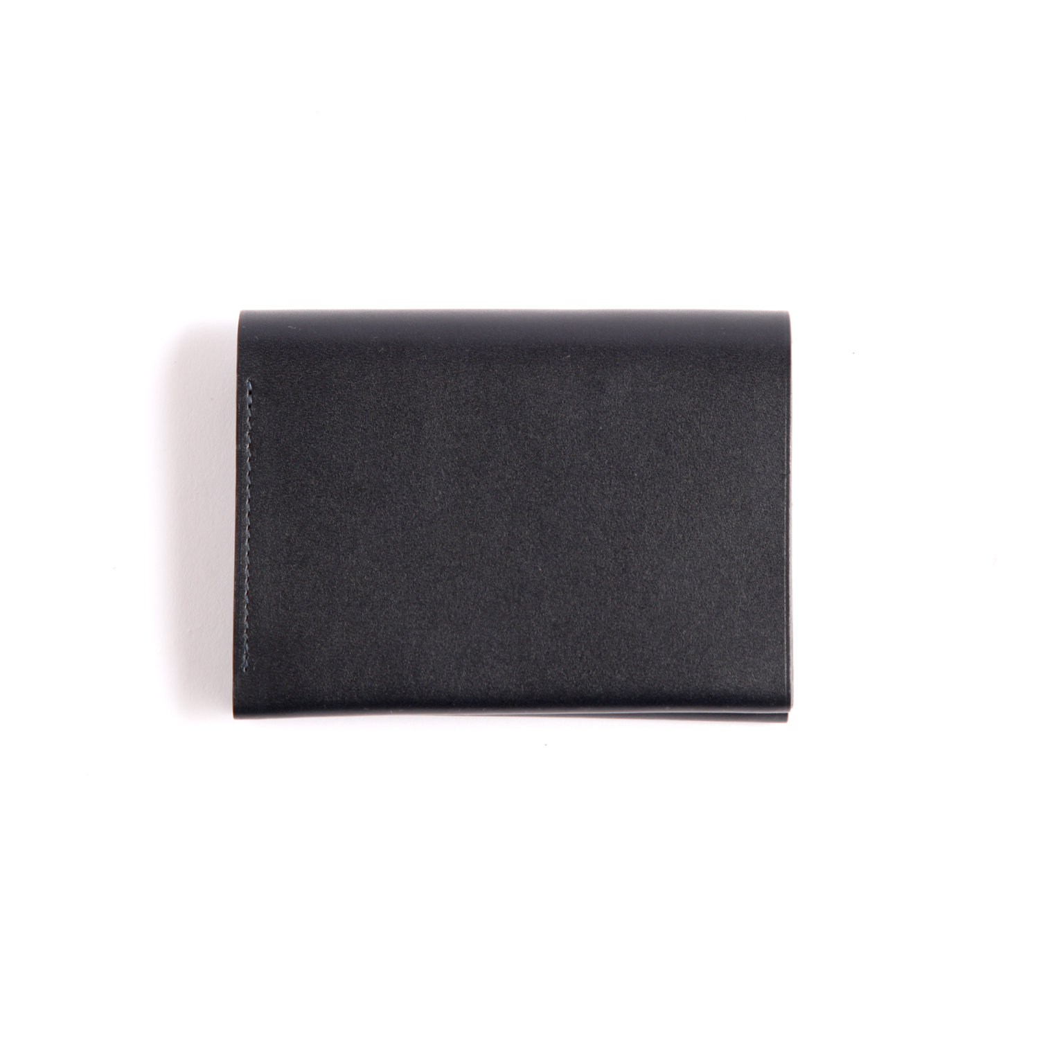 Postalco/Pressed Cotton Card & Coin Wallet/Navy  Blue