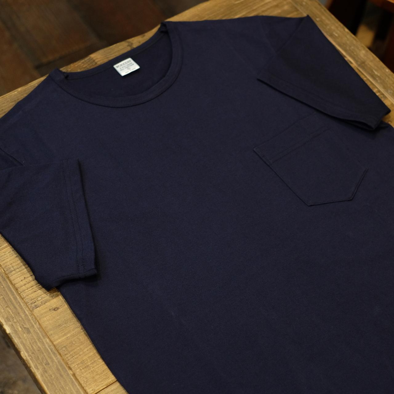 Workers(ワーカーズ) CIRCLE別注 3PLY ポケットTシャツ ダークネイビー