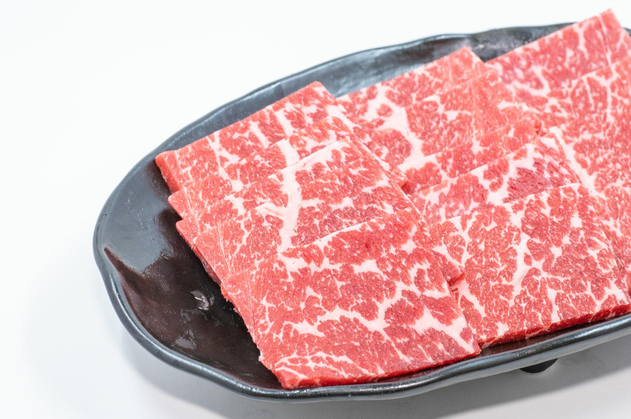 かわなべ牛 上焼肉(上赤身500g)