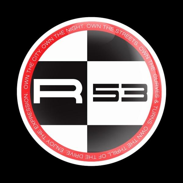 ゴーバッジ(ドーム)(CD0398 - MINI R53 RED) - 画像1