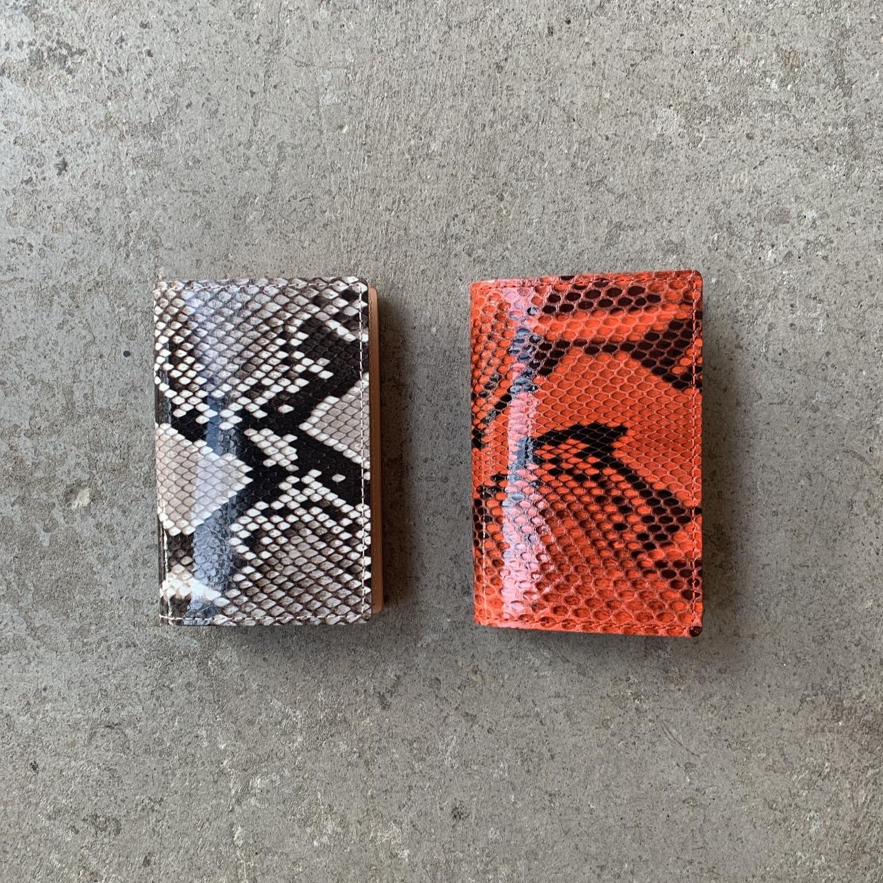 Hender Scheme - python folded card case