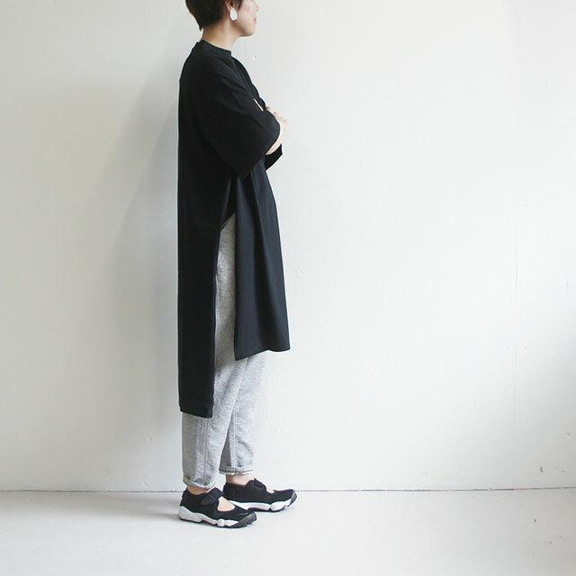 kiino. キイノ シルケット天竺スリットワンピース (品番k-008)