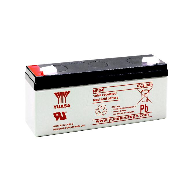 NP3-6 GSユアサ製 小形制御弁式鉛蓄電池 NPシリーズ