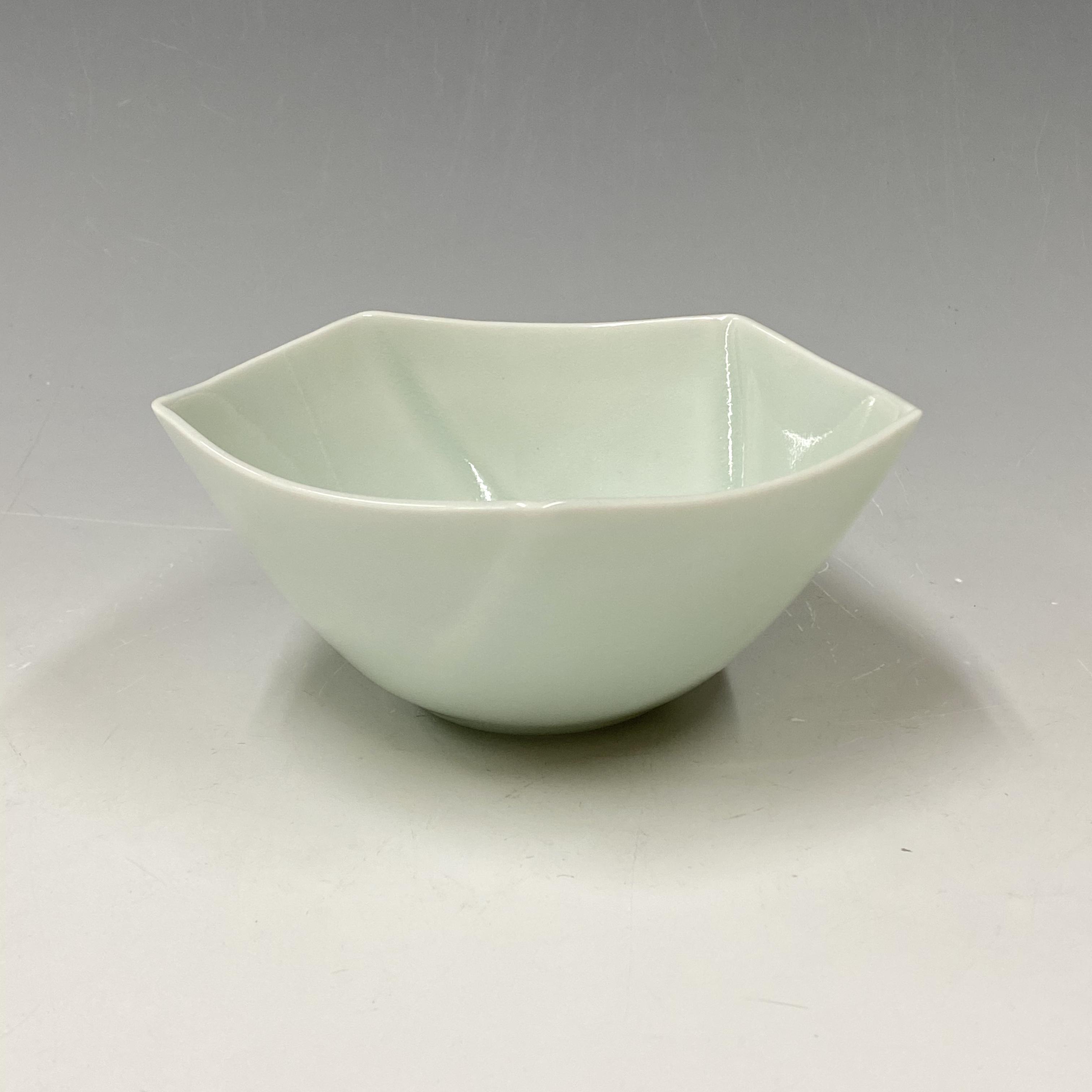 【中尾純】青白磁五角鉢