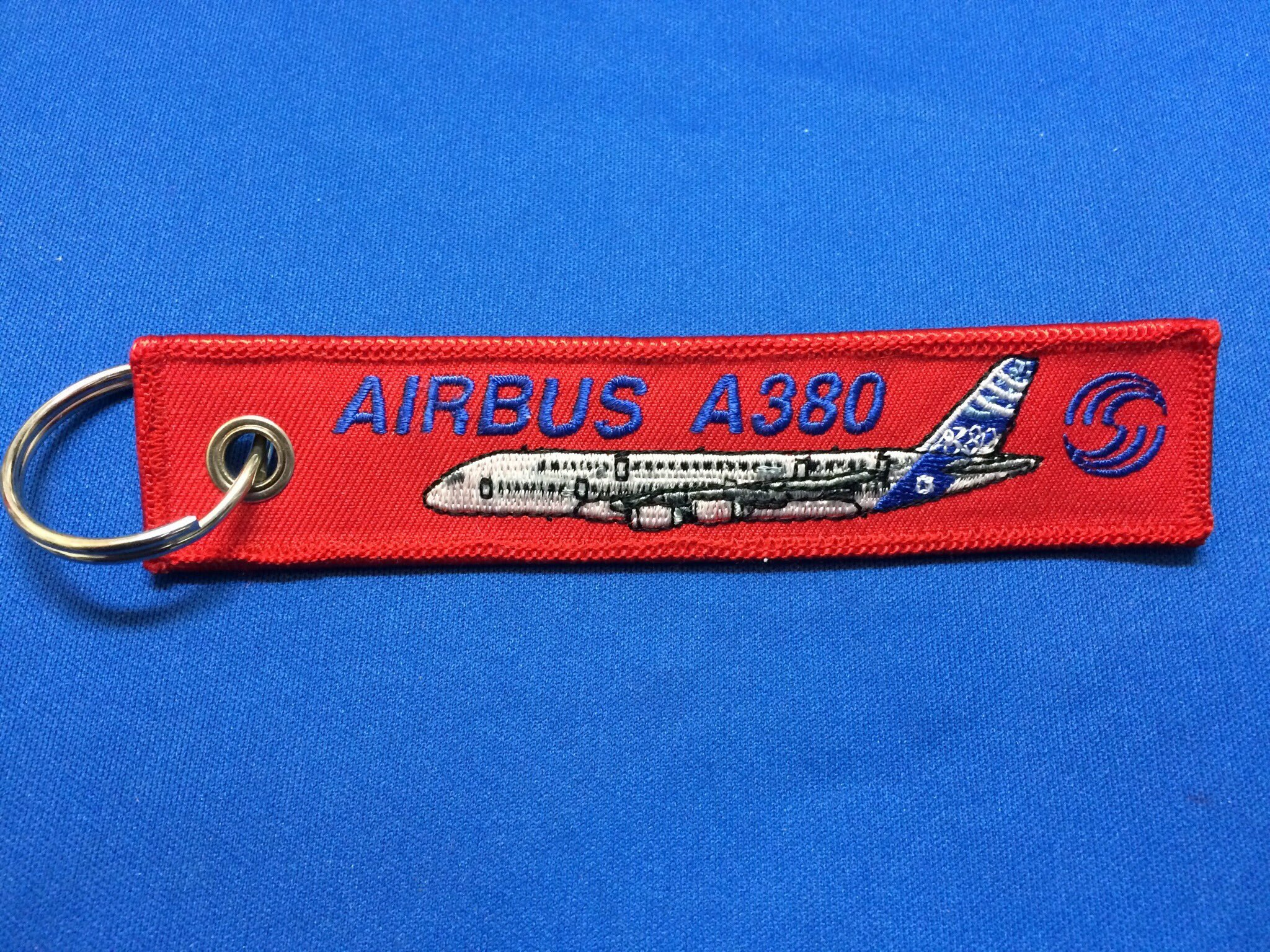 RemoveBeforeFlightキーホルダー/AIRBUS A380
