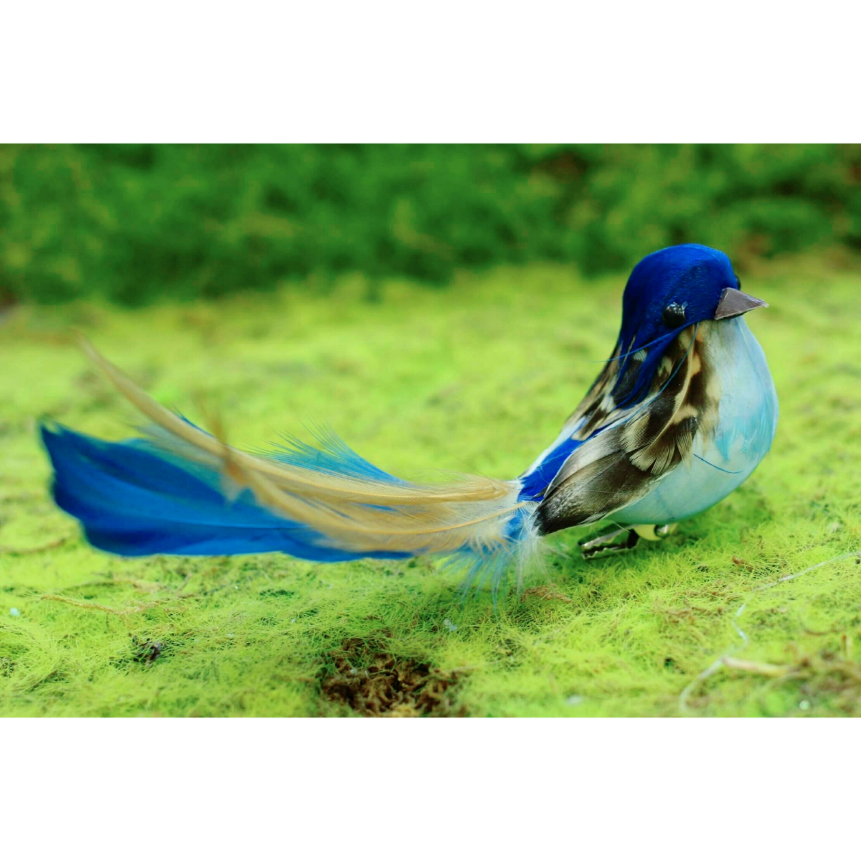 コトリのクリップ【Blue】/鳥雑貨/浜松雑貨屋 C0pernicus