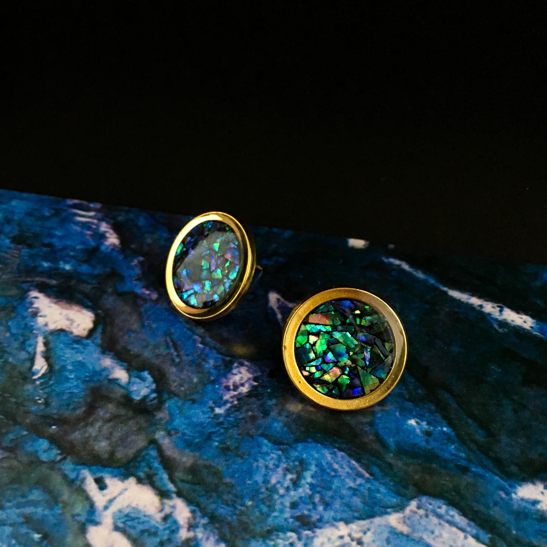 E-2 pierce/earring(gold)