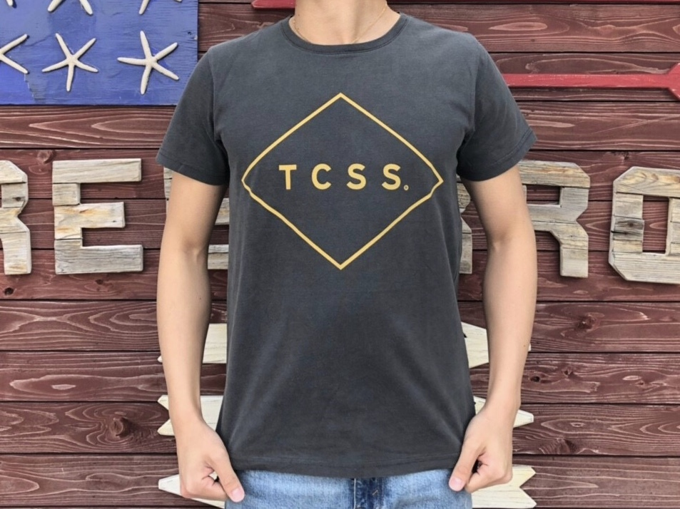 TCSS STANDARD TEE (black × yellow)